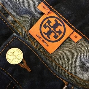 EUC very beautiful Tory Burch straight leg denim